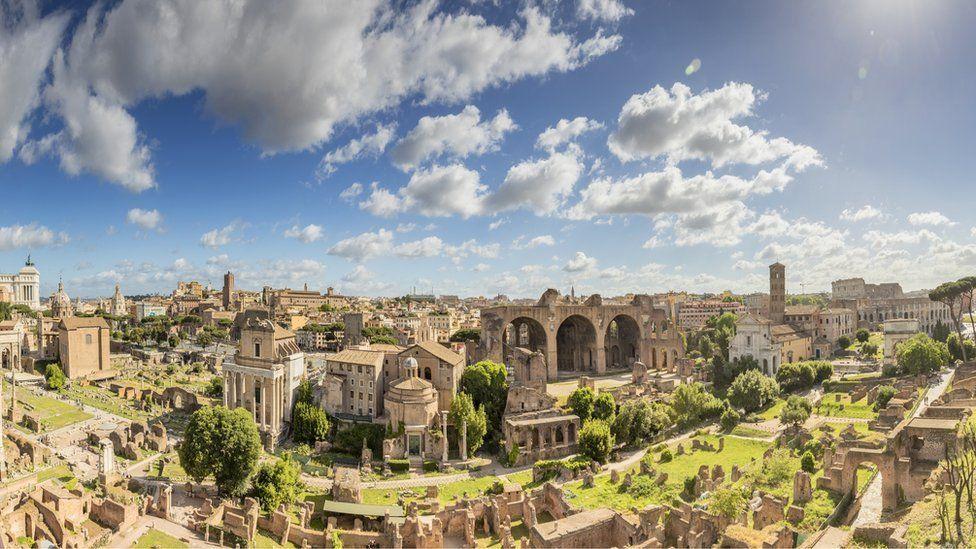 Las calles de Roma sobre las que Marco Aurelio  dejó su impronta.