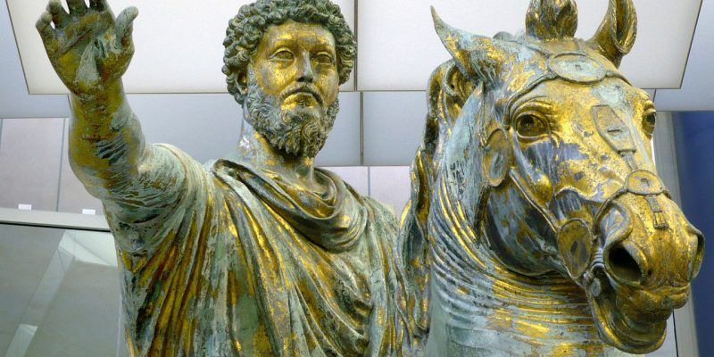 Marco Aurelio estatua