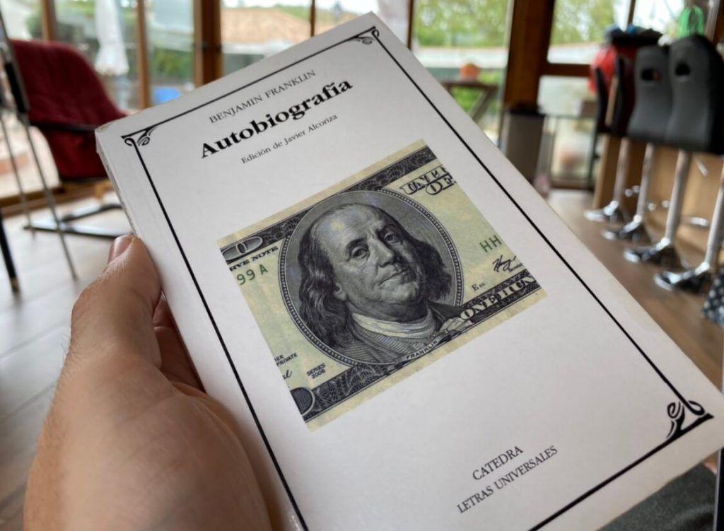 Autobiografía - Benjamin Franklin. 12 LIBROS PARA PROFUNDIZAR EN EL ESTOICISMO