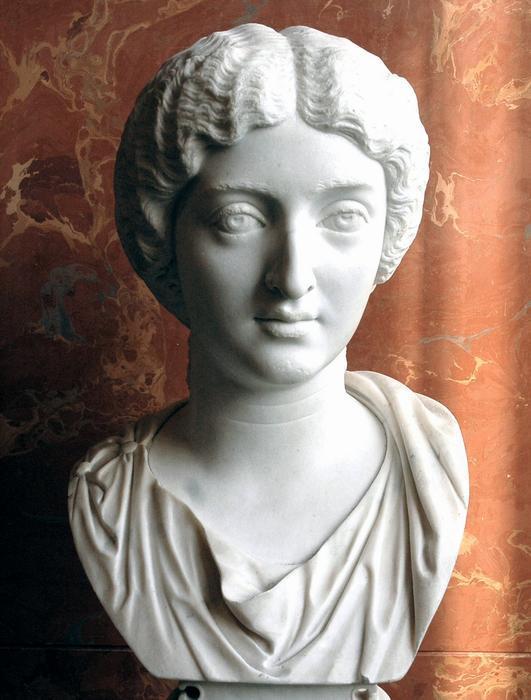Busto de Cornificia. Mujer estoica.