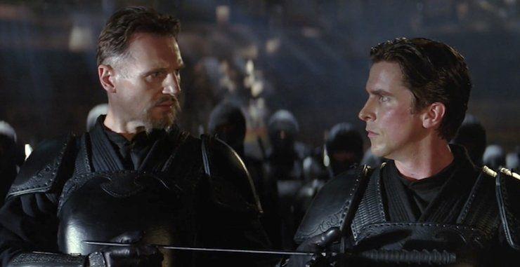 Bruce se enfrenta a su maestro, Henri Ducard