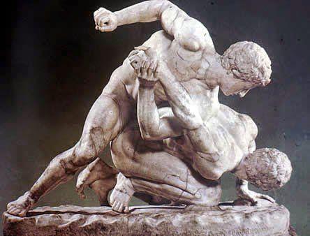 Los estoicos encontraban una similitud entre el deporte y la lucha.