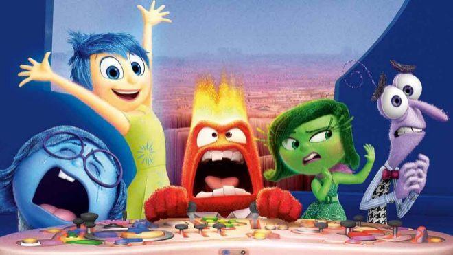 Representación de las emociones en la película de Disney: Inside Out