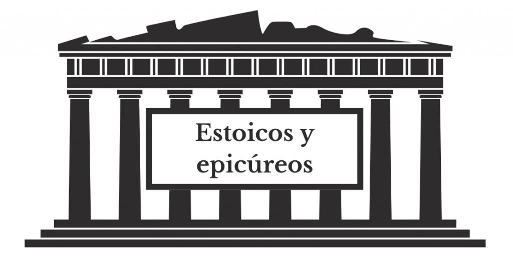 estoicos y epicureos