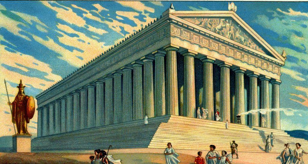 El Partenón de Atenas , símbolo de la Grecia clásica.