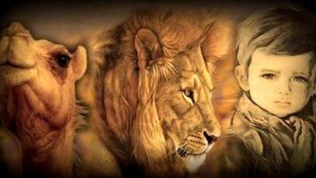 Las tres transformaciones del espíritu Nietzsche: el camello, el león y el niño