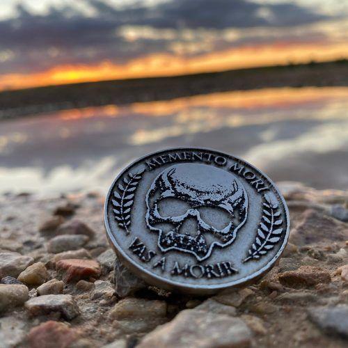moneda memento mori