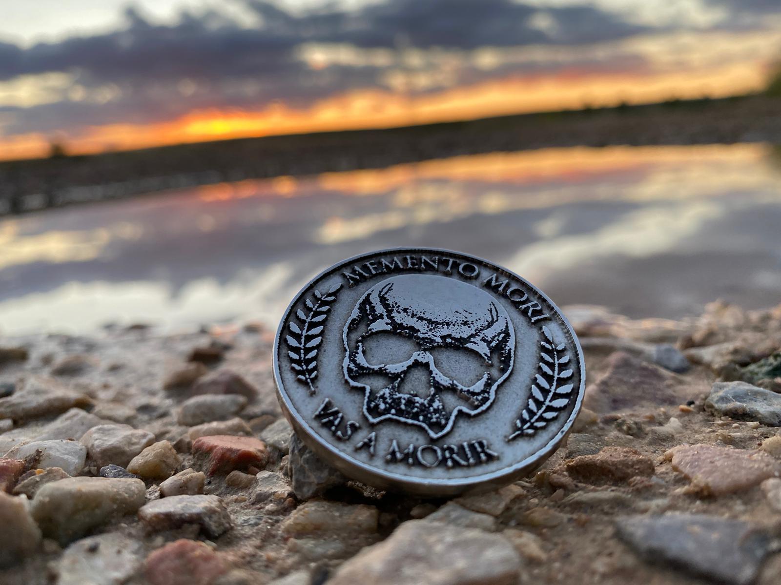 Medallion Memento Mori. Productividad y gestión del tiempo