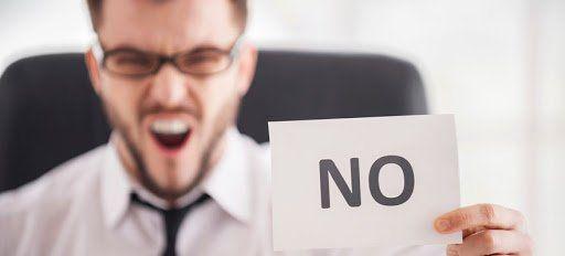 Rechaza las cosas que no importan, aprende a decir no