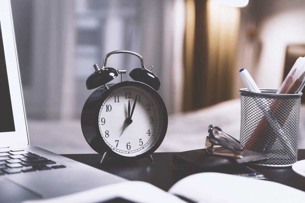 La organización del tiempo es un elemento clave para enfrentarte a los estudios.
